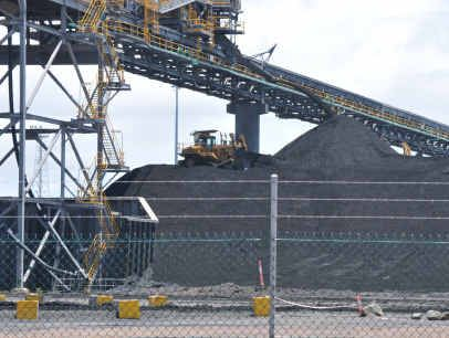 MASSIVE: The RG Tanna coal terminal is the fourth largest in the world by volume.