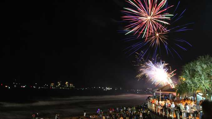 Celebrate New Year's Eve at Mooloolaba.