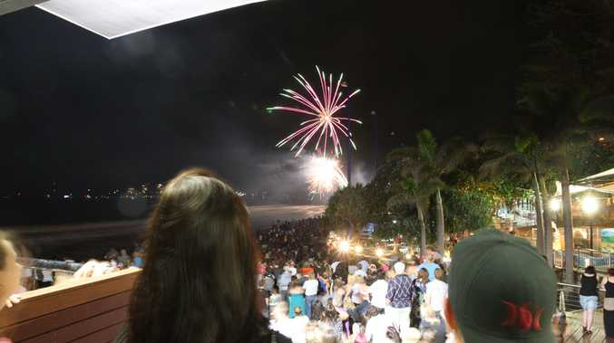 Thousands of locals and tourists turned out to watch fireworks and have fun on New Years Eve