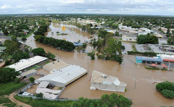 Flooding in Emerald.
