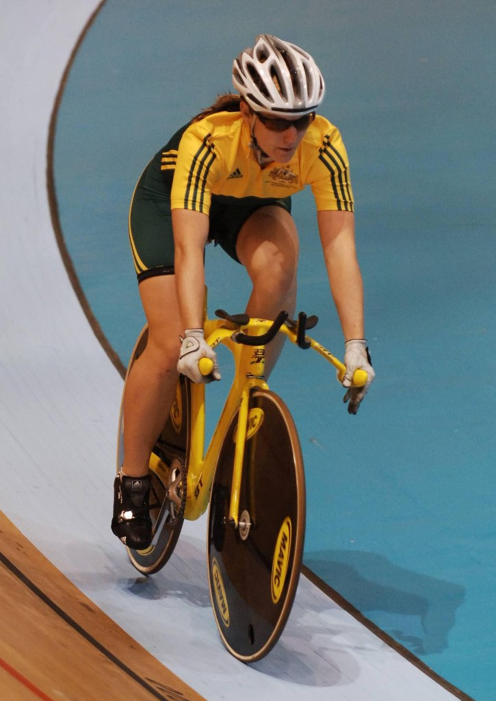 Flying in yesterday, Meares, whose rivalry against Great Britain's Victoria Pendleton will be one of the highlights of the entire Games, said the locals had made their feelings clear.