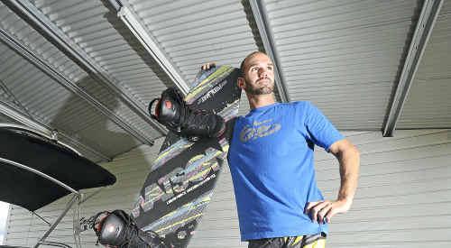 Making waves: John Schottelius is thinking big at Seelands.