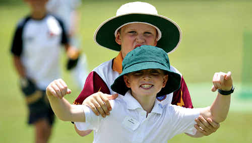 Scorchers junior cricket camp.
