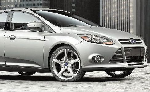 Groovy styling: The 2011 model Ford Focus has some impressive lines.