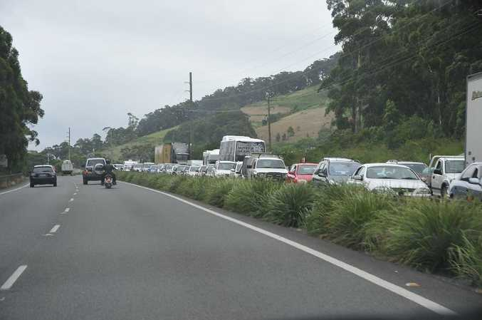 State Roads Minister David Borger has announced Abigroup has won the project as part of the Pacific Highway upgrade.