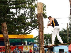 Woodchop attracts world's best