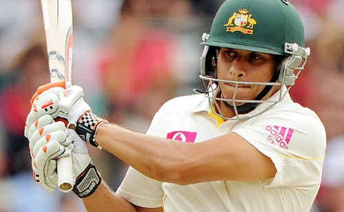 Usman Khawaja plays a pull shot on the first day of the Fifth Test against England at the Sydney Cricket Ground. Tom Cooper believes Khawaja has a big role in the future of the Australian team.