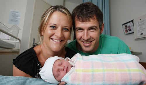 Ruby Jayne Morgan was born on January 1. Parents Jasmine and Brett Morgan, of Landsborough, also have twin four-year-olds, Brock and ... Cooper.