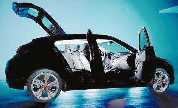 STOLEN CAR: Witneses have described the stolen vehicle as a black Hyundai Veloster