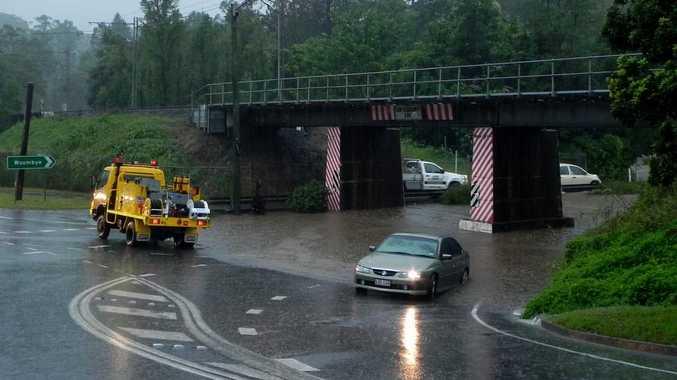 Flooding across the Sunshine Coast, January. 9-10.