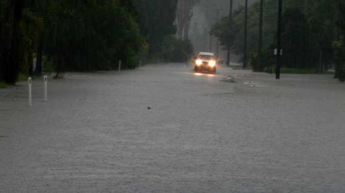 Flooding across the Sunshine Coast, January. 9-10. Photos: Mark Furler