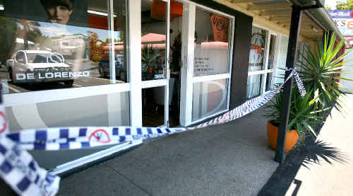 Thieves broke into Void Hair Design at Turtle Shores Shopping Centre at Blacks Beach.