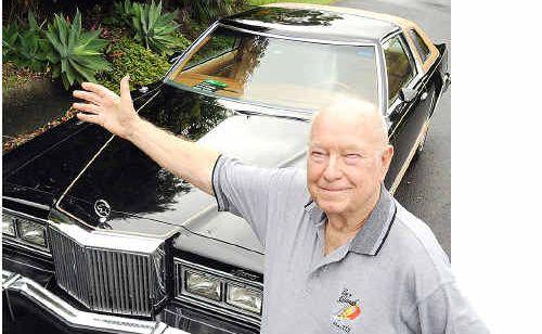 Ken Blakemore is selling his rare 1978 Cougar Mercury car.