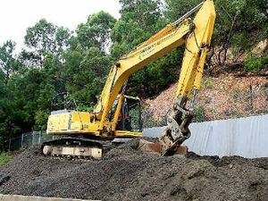 Work begins to stabilise landslip on Tugun Bypass