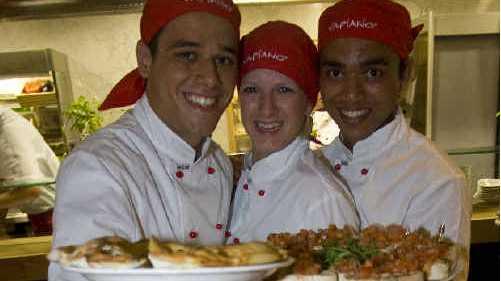 VAPIANO serves up Italian cuisine with Australian spirit. PHOTO: SUPPLIED