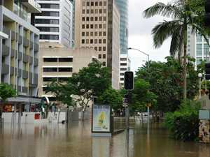 Stormwater build-up preceded floods