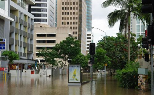 Water built up in Brisbane's stormwater drains before the January flood hit, an experienced water engineer has said.