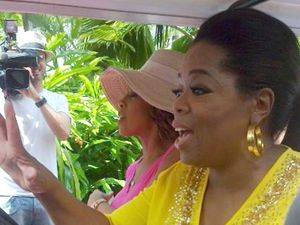 We Were There: Oprah visited Hamilton Island