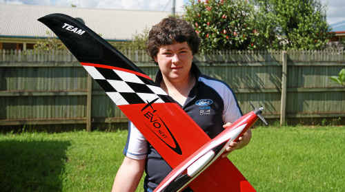 Toowoomba model plane champion Tyler Mees is eyeing a possible start at this year's world titles.