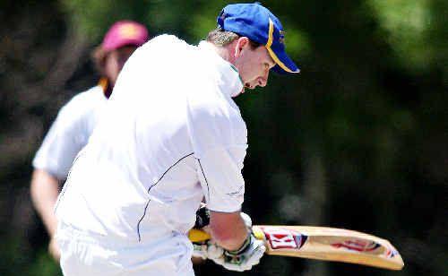 Pottsville's Jamie Bennett is bowled out on a tough day for LJ Hooker League batsmen on Saturday.