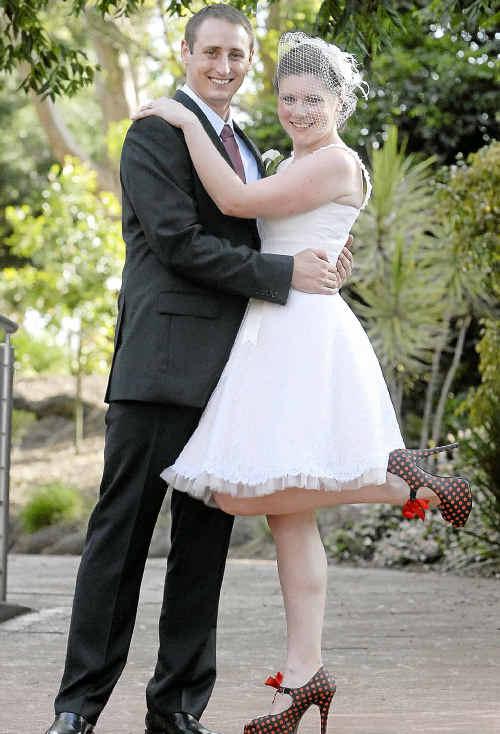 Stephen Turner and Kirstin Eriksen were thrilled to celebrate their wedding in Toowoomba this weekend.