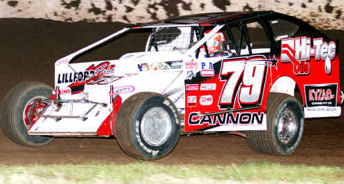 Revved up: Scott Cannon has a new race car.