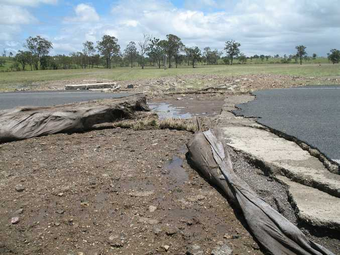 Following the 2010/11 summer floods the state-controlled road network in the Gympie/South Burnett was severely damaged.