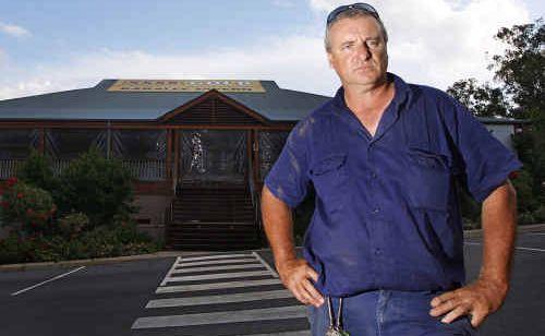 Karalee Tavern owner Glen Atkinson says he kept his prices normal through the flood crisis period.