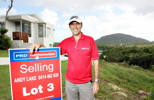 "PRD Nationwide Coolum sales manager Andy Lake says $280,000 was ""about average"" for land on the Coast."