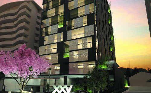 An artist's impression of the XXV First Avenue luxury sky residences development.
