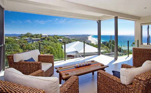 The views are amazing from 2 Millen Court, Coolum Beach.