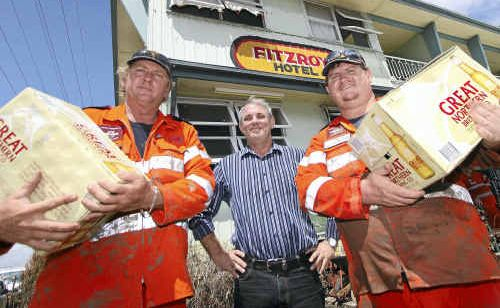 Just three months earlier, that figure, Tony Higgins, had bought the hotel and moved back to the Central Queensland city after 20 years away.