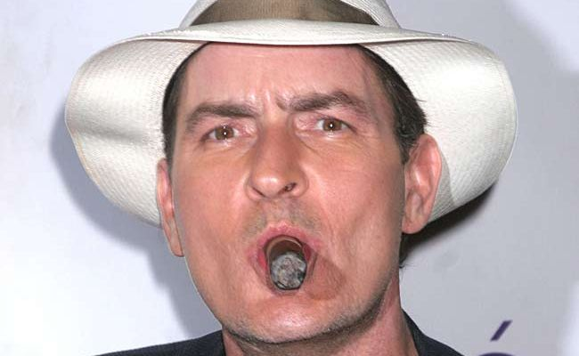 Charlie Sheen has donated $50,000 to My Friend's Place, which works with young homeless people in Hollywood.