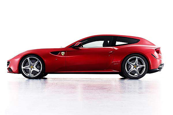 Ferrari has revealed its first ever four-wheel-drive in the form of the radical FF, or Ferrari Four.