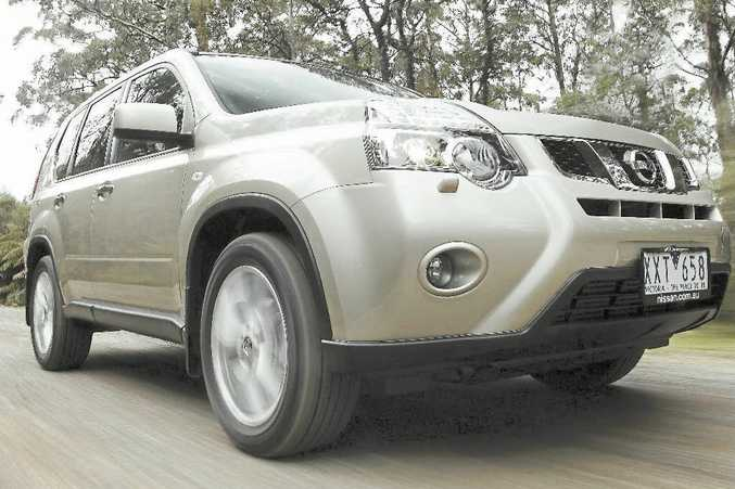 X-Ceptional: The Nissan X-Trail is holding its own in a competitive market.
