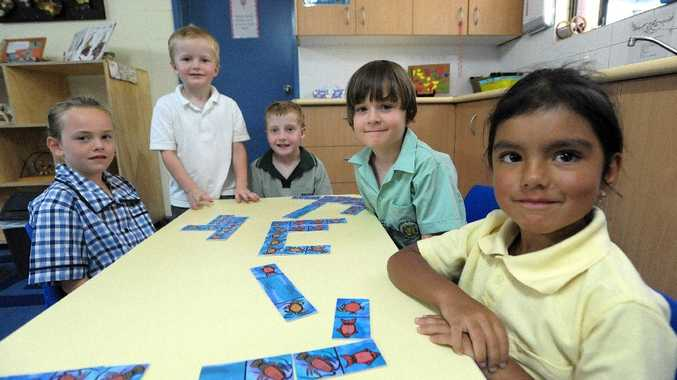 Lillie-Ann Cowling is going to St Augustine's, Angus Macintosh and Billy Heap are starting at Korora Public School, Taj Willoughby is going to Mary Help of Christians and Sarra Chetty is heading to Narranga Primary School.