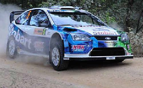 Racing legends are revved up for the World Rally in Coffs.