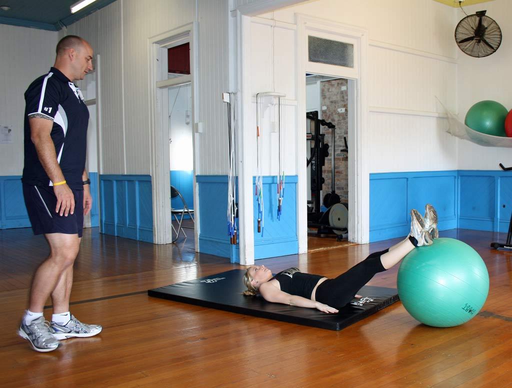 Glenn Azar runs Ali Balderson through her paces in preparation for his new Finda Fitness column.