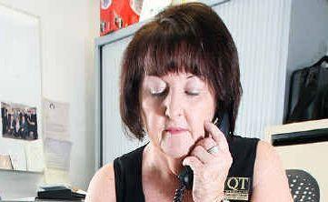 Bernadette Mohr has taken plenty of calls offering help to flood-affected families.