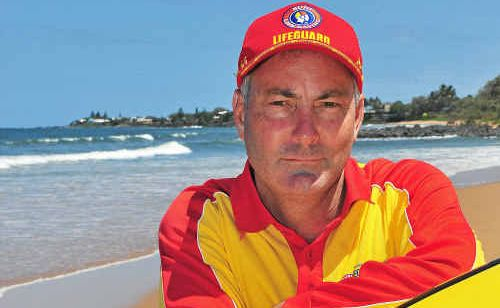 Australian Lifeguard Service lifeguard Allan Wood had his sunglasses stolen while he was rescuing someone in distress at Kelly's Beach, Bargara.