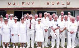 Maleny Bowls Club has invested in an artificial surface.