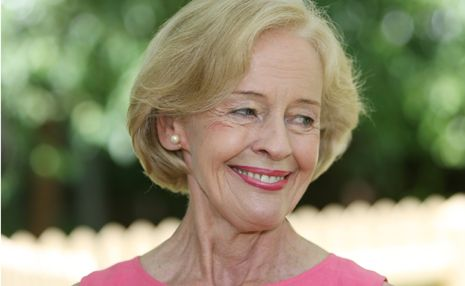 Governor-General Quentin Bryce is among many politicians who attended the Hazel Hawke memorial service.