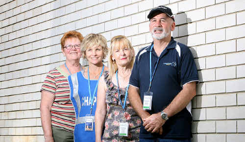 Disaster response chaplains in Laidley are Rickie Haupt, Margot McCrindle, Norma Lemon and Ray Lemon.