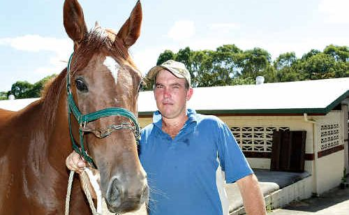Trainer Robert Bradshaw has high hopes for talented two-year-old filly Dens Era.