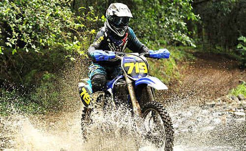 Wurtulla's Daniel Gordon is looking for a breakthrough victory in enduro racing.