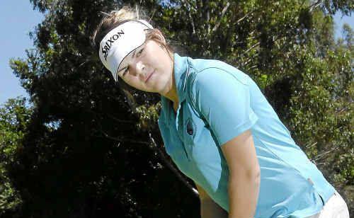 City Golf Club's Zoe Field preparing to represent Queensland in April.
