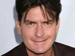 Charlie Sheen's on-screen funeral