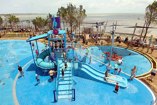 Regular testing is carried out at WetSide Water Park.