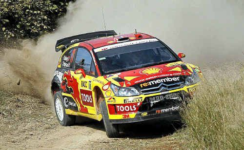 Coffs Coast residents can look forward to former WRC world champion Petter Solberg showing this style in September when the WRC comes to town.