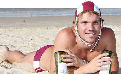 Josh Minogue is sacrificing alcohol.